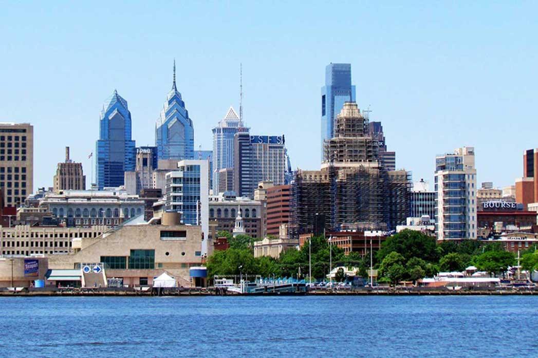 A skyline in Delaware